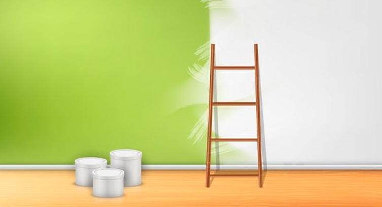 qué pintura debes elegir para la decoración de una habitación