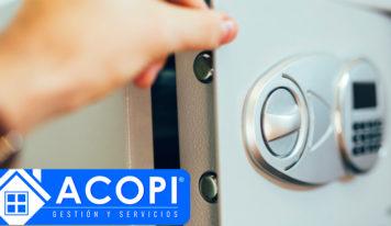 Cerrajero Acopi: ¿La caja fuerte no se abre? Prueba estos consejos