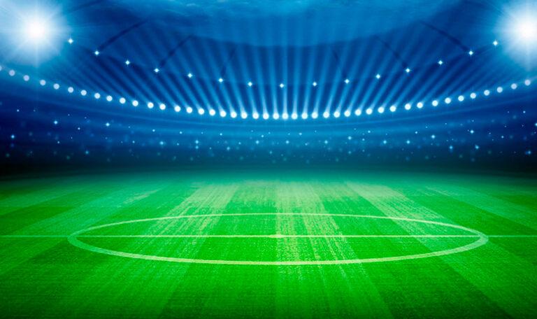césped artificial estadio