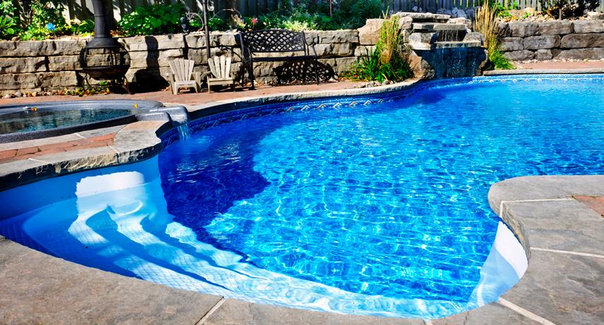 La piscina enterrada