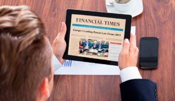 ABG IP se consolida entre los diez mejores despachos de patentes de Europa, según Financial Times