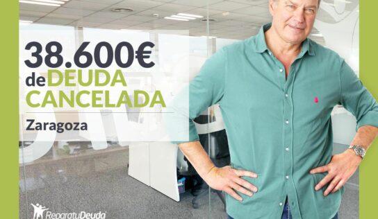 Repara tu Deuda Abogados cancela 38.600€ en Zaragoza (Aragón) con la Ley de la Segunda Oportunidad