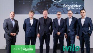Wilo y Schneider Electric intensifican su colaboración con un partenariado estratégico