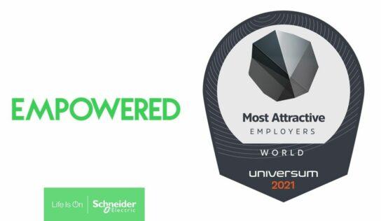 Schneider Electric entre los 25 lugares más atractivos del mundo para trabajar, según Universum